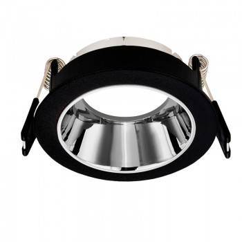 Aro downlight circular encastrável fixo antideslumbrante UGR 16 para GU10 / GU5.3