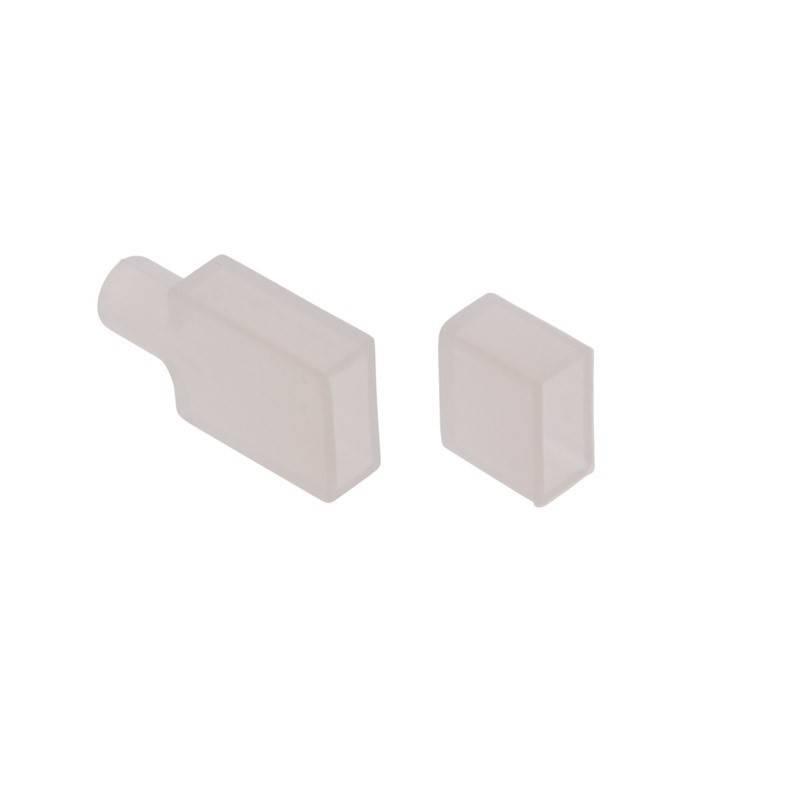 Tapón de silicona para inicio / final de neón flexible 4x10mm