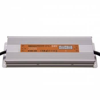 Fonte de alimentação estanque compacta 24V 200W IP67
