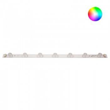 Barra rígida de LED RGB 56cm 10W 24V-DC para sinalização frente e verso IP65