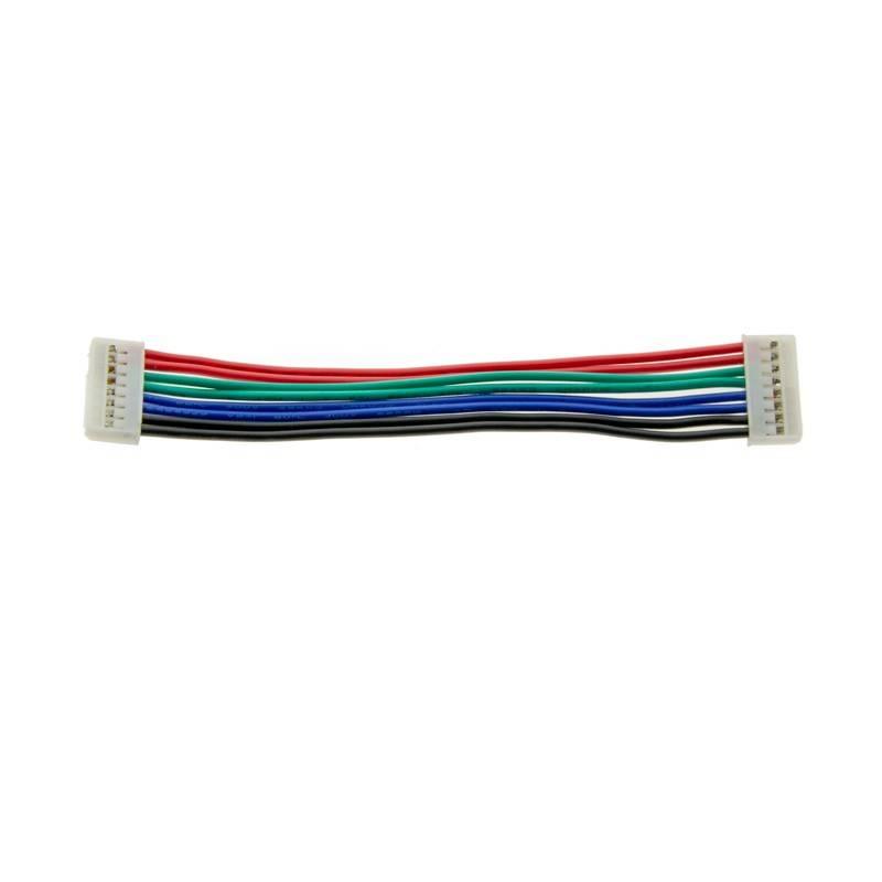 Cabo de junção de 8 pinos para fita LED rígida RGB (ref. B1428RGB)