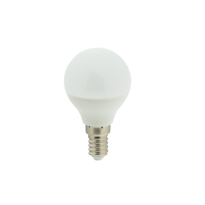 Lâmpada Esférica LED E14 G45 4.2W Opalina 323lm