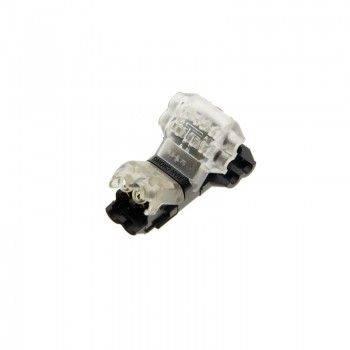Conector em T rápido para 2 cabos em paralelo - máx. 36V - 9A