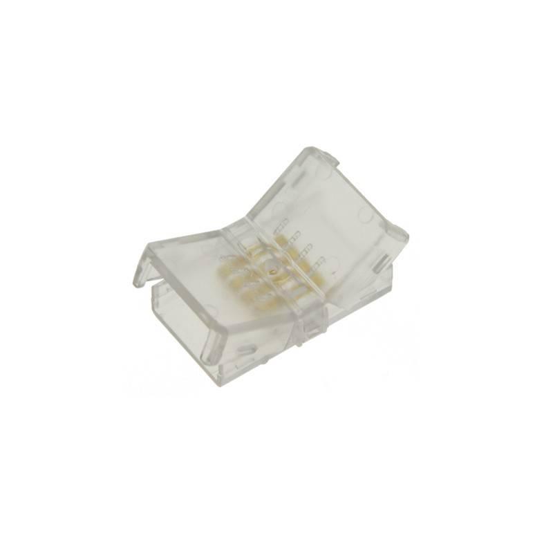 Conector 4 pinos HIPPO RGB  Fita a fita PCB 10mm - IP44 - Máx. 24V