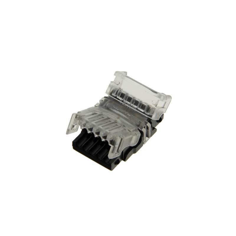 Conector rápido RGBW de 5 pinos - Fita a cabo PCB 12mm IP20 Máx. 24V