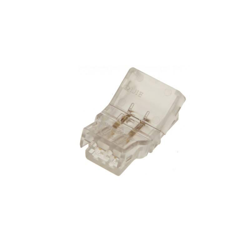 Conector rápido estanque de 2 pinos - Fita a cabo PCB 10 mm IP66 - Máx. 24V