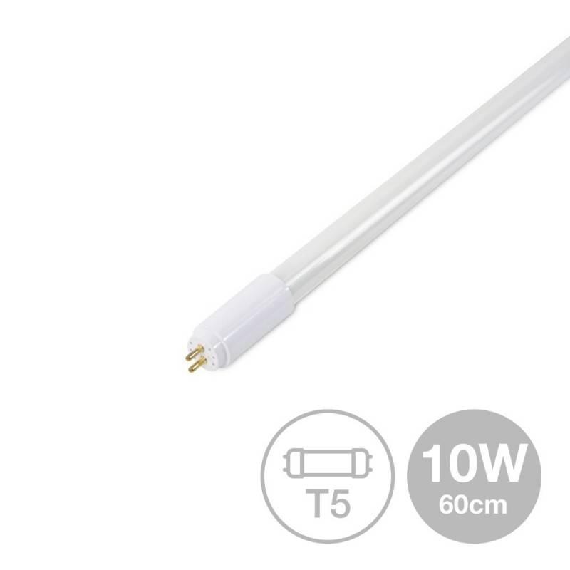 Tubo LED T5 10W 60cm (565mm) vidro opalino