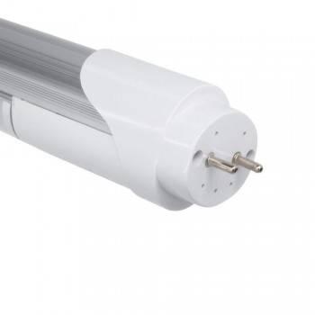 Tubo LED T8 60cm 9W com sensor micro-ondas branco 6000K vidro opalino