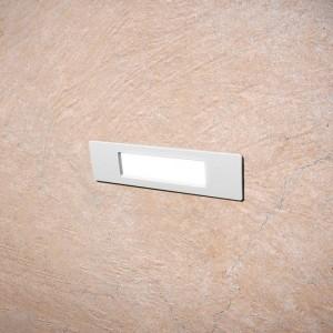 Aplique de parede LED encastrável FUMAGALLI NINA 190 R7S 4W IP55